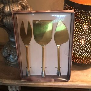 Cheese serving set NWT Hostess party set